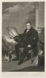 Philip Hurd, by Thomas Hodgetts, published by  Merle & Son, after  Thomas Stewardson - NPG D36409