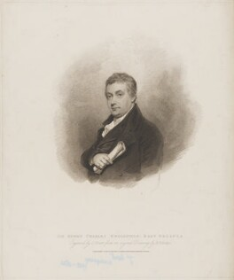 Sir Henry Charles Englefield, 7th Bt, by Charles Picart, published by  T. Cadell & W. Davies, after  Henry Edridge - NPG D36189