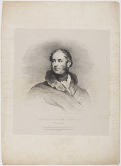 John Willoughby Cole, 2nd Earl of Enniskillen, by John Scarlett Davis, printed by  Charles Joseph Hullmandel, published by  Colnaghi, Son & Co, after  William Robinson, published 18 October 1829 - NPG D36191 - © National Portrait Gallery, London