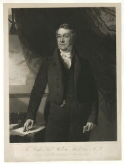 William Huskisson, by William James Ward, published by  Paul and Dominic Colnaghi & Co, published by and after  John Graham Gilbert, published August 1831 - NPG D36412 - © National Portrait Gallery, London