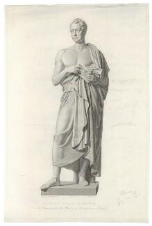 William Huskisson, by Domenico da Roma Marchetti (Domenico Merchetti), published by  L. Camia, after  John Gibson, mid 19th century - NPG D36413 - © National Portrait Gallery, London