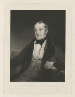 William Huskisson, by Thomas Hodgetts, published by  Martin Colnaghi, after  Richard Rothwell - NPG D36414