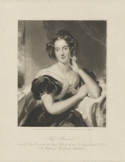 Julia Errington (née Macdonald), by Samuel Cousins, published by  Martin Colnaghi, after  Sir Thomas Lawrence - NPG D36193