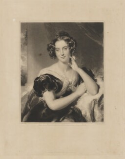 Julia Errington (née Macdonald), by Samuel Cousins, published by  Martin Colnaghi, after  Sir Thomas Lawrence - NPG D36194