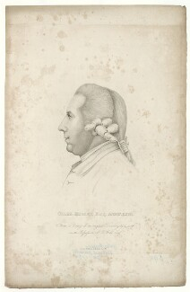 Giles Hussey, published by Nichols, Son & Bentley - NPG D36416