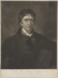 Thomas Erskine, 1st Baron Erskine, by George Clint, published by  John Peter Thompson, after  Sir Thomas Lawrence - NPG D36198