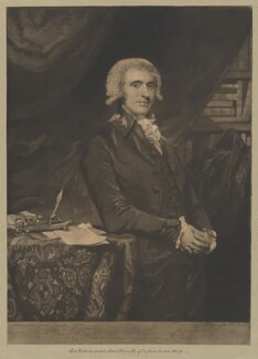 Thomas Erskine, 1st Baron Erskine, by and published by John Jones, after  Sir Joshua Reynolds - NPG D36200
