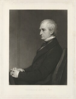 (John) Frederick Andrew Johann Friedrich Andreas Huth, by Samuel Cousins, published by  David Thomas White, after  Sir William Boxall - NPG D36421
