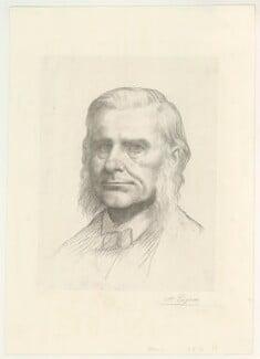 Thomas Henry Huxley, by Alphonse Legros - NPG D36428