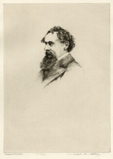 Charles Dickens, by Wilfred Crawford Applebey, after  John & Charles Watkins - NPG D36601