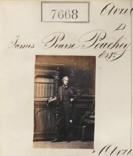 James Pearse Peachey, by Camille Silvy - NPG Ax57507