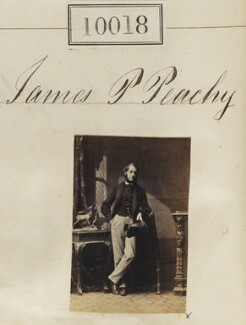 James Pearse Peachey, by Camille Silvy - NPG Ax59732
