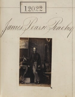 James Pearse Peachey, by Camille Silvy - NPG Ax61699