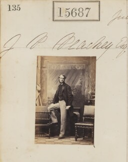 James Pearse Peachey, by Camille Silvy - NPG Ax63615