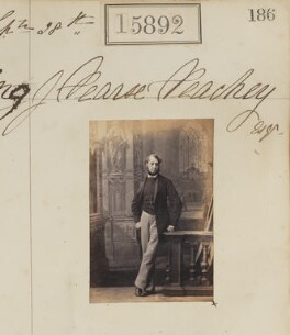 James Pearse Peachey, by Camille Silvy - NPG Ax63822
