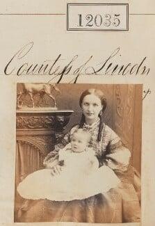 Lady Beatrice Adeline Lister-Kaye (née Pelham-Clinton); Henrietta Adela Pelham-Clinton (née Hope), Duchess of Newcastle, by Camille Silvy - NPG Ax61712