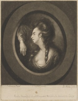 Mary Ann Yates as Jane Shore, by J. Meers, printed for and published by  John Boydell, after  Thomas Parkinson - NPG D36248