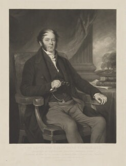 Harry Farr-Yeatman, by George Zobel, after  Sir Francis Grant - NPG D36249