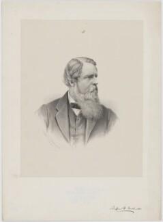 Sir Stafford Henry Northcote, 1st Earl of Iddesleigh, by George B. Black, 1880 - NPG D36435 - © National Portrait Gallery, London