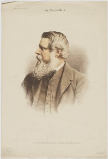 Sir Stafford Henry Northcote, 1st Earl of Iddesleigh, by Maclure & Macdonald, published by  The Pictorial World, after  London Stereoscopic & Photographic Company, published 17 February 1883 - NPG D36436 - © National Portrait Gallery, London