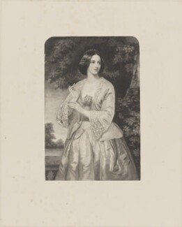 Miss Emily Yelverton, by William Henry Mote, after  William Salter Herrick - NPG D36251