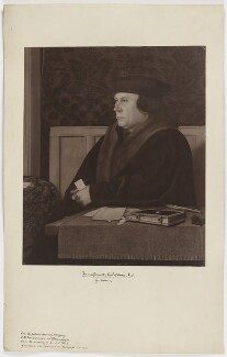 Thomas Cromwell, Earl of Essex, after Hans Holbein the Younger - NPG D36562