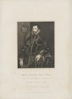 Walter Devereux, 1st Earl of Essex, by Henry Meyer, published by  Lackington, Allen & Co, and published by  Longman, Hurst, Rees, Orme & Brown, after  Robert William Satchwell, after  Unknown artist - NPG D36567