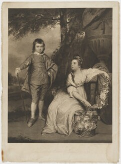 George Capell-Coningsby, 5th Earl of Essex; Elizabeth Monson (née Capel), Lady Monson, by and published by Charles Turner, after  Sir Joshua Reynolds, published 14 July 1817 (1767) - NPG D36573 - © National Portrait Gallery, London