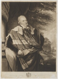 George Capell-Coningsby, 5th Earl of Essex, by and published by Charles Turner, after  John Hoppner - NPG D36575