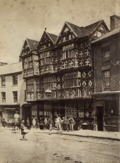 'The Feather's Inn, Ludlow', by Unknown photographer - NPG x132845