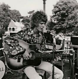 David Bowie, by David Bebbington, 16 August 1969 - NPG x133101 - © David H. Bebbington