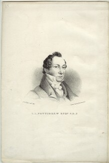 Thomas Joseph Pettigrew, by Hannah Sarah Brightwen (née Turner), printed by  Engelmann & Co, after  Eden Upton Eddis - NPG D36606