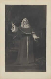 Sir Elijah Impey, by Henry Dixon & Son, possibly after  Johan Joseph Zoffany - NPG D36440