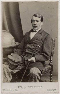 David Livingstone, by London Stereoscopic & Photographic Company - NPG Ax28415