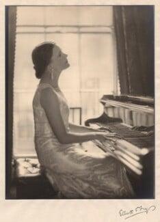 Harriet Cohen, by Herbert Lambert, for  Elliott & Fry - NPG x39249