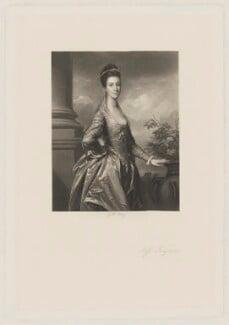 Elizabeth Ingram, by George H. Every, after  Sir Joshua Reynolds - NPG D36446