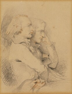 Thomas Holcroft; William Godwin, by Sir Thomas Lawrence - NPG 6880