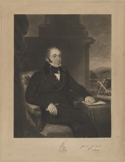William Innes, by Robert Moore Hodgetts, printed by  Brooker & Harrison, after  Thomas Barber - NPG D36449