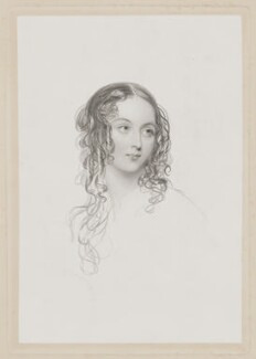 Caroline Jeanetta Capel (née Beauclerk), Countess of Essex, by William Henry Mote, after  John Hayter - NPG D36581