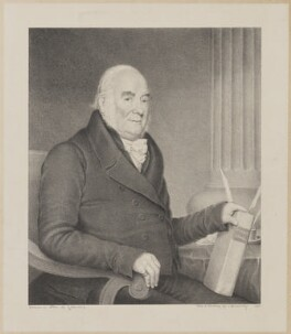 John Inville, by George Perfect Harding, after  C.C. Coventry - NPG D36450