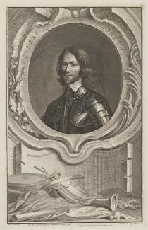 Henry Ireton, by Jacobus Houbraken, published by  John & Paul Knapton, after  Samuel Cooper - NPG D36451