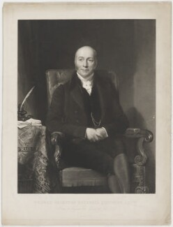 Thomas Grimston Bucknall Estcourt, by George Zobel, printed by  Thomas Brooker, after  Henry William Pickersgill - NPG D36584