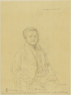 William Evans, by James Donald Milner, after  John Linnell - NPG D36587