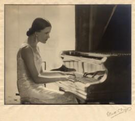 Harriet Cohen, by Herbert Lambert, for  Elliott & Fry - NPG x39250
