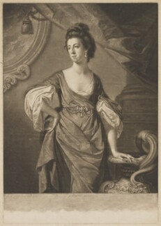 Agneta Yorke (née Johnson), by Valentine Green, published by  John Boydell, after  Francis Cotes - NPG D36258
