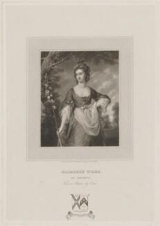 Elizabeth Yorke (née Cust), by Edward Scriven, after  Francis Cotes - NPG D36260