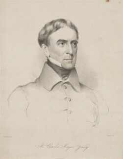 Charles Mayne Young, by Maxim Gauci, printed by  Graf & Soret, after  Eden Upton Eddis, 1839 - NPG D36265 - © National Portrait Gallery, London