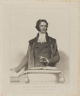 Edward Irving, by Henry Meyer, published by  James Nisbet, after  Andrew Robertson - NPG D36452