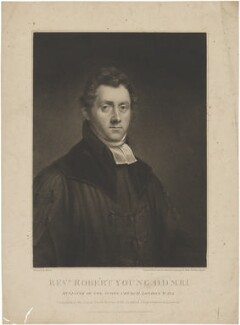 Robert Young, by Edward Scriven, published by  James Forsyth, after  E. Gerard - NPG D36269