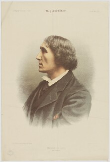 Sir Henry Irving, by Maclure & Macdonald, published by  The Pictorial World, after  Samuel Alexander Walker - NPG D36456